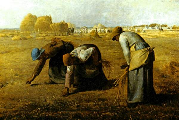 The Gleaners - Jean Francois Millet 1857