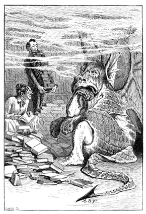Balbus was assisting his mother-in-law to convince the dragon.