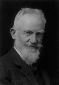 NPG x81840; George Bernard Shaw by Elliott & Fry