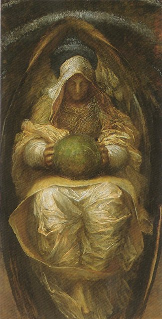 The Recording Angel - George Frederick Watts