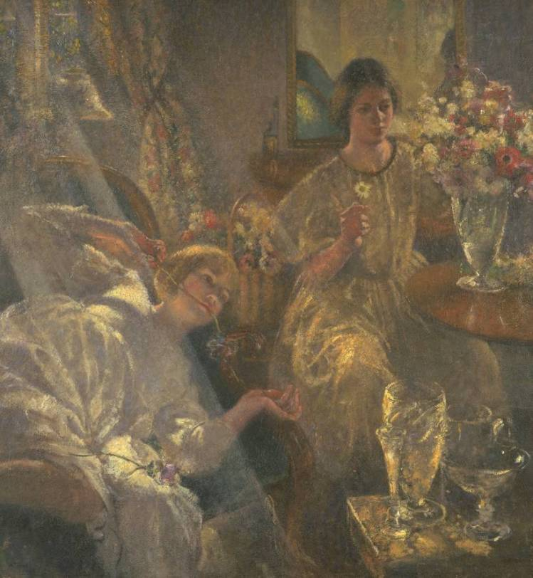Spring Days 1928 by Henry Tonks 1862-1937